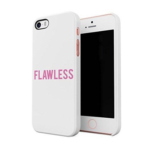 Pink Rosa Flawless Perfect Dünne Rückschale aus Hartplastik für iPhone 5 & iPhone 5s & iPhone SE Handy Hülle Schutzhülle Slim Fit Case Cover (Iphone 5 Queen Bee)