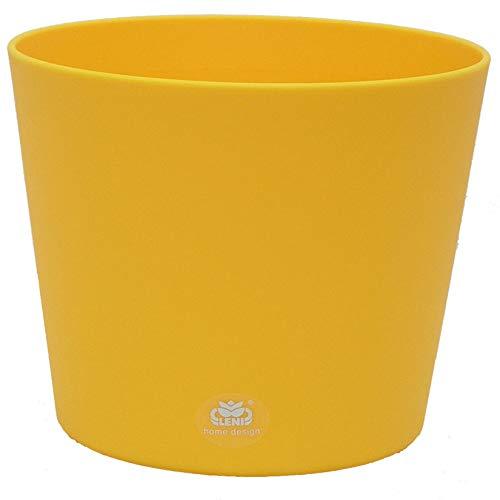 Kunststoff Blumentopf Flori 24 gelb Ø 24.0cm H 22.0cm