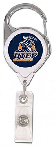 University of Texas AT EL PASO UTEP Miners Premium Badge Reel ID Holder