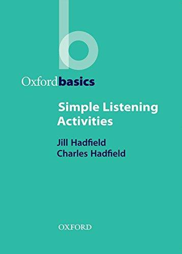 Simple Listening Activities (Oxford Basics) por Charles Hadfield