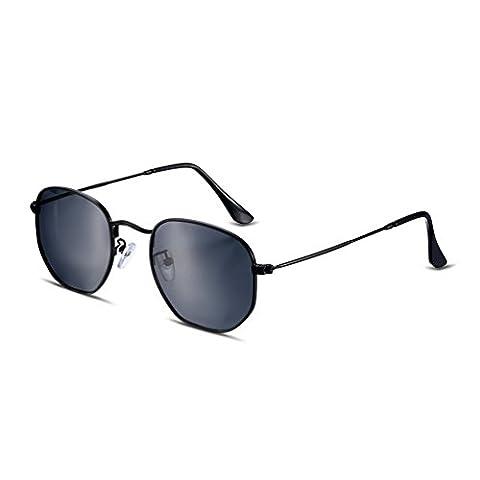 HMILYDYK Driving Polarized Sunglasses High Quality Retro Mirror Lens Unbreakable Frame UV400 Men's Glasses Eyewear