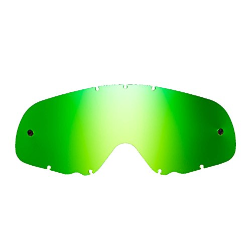 SeeCle 416167 grün ersatzgläser für masken kompatibel mit Oakley Crowbar Maske