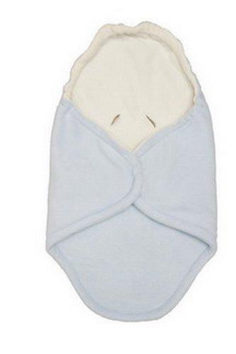 Babyzubehör HLUSIN 1011150701 Kuschel Cooc Classic, Länge circa 86 cm, Breite circa 45 cm bzw.92 cm, blau/natur