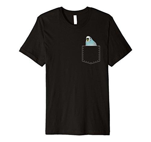 Cute Pocket Wellensittich T Shirt Sittiche Papagei Lover Geschenkidee -