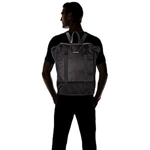 31lK%2B8KsgPL. SS300  - Calvin Klein - Braced F Backpack, Mochilas Hombre, Negro (Black), 18x29x45 cm (B x H T)