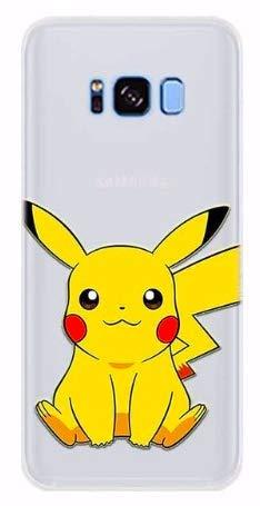 Art Design Hülle für Samsung Galaxy S10 Pikachu Pokemon Pokeball Karikatur Cartoon Soft Silikon