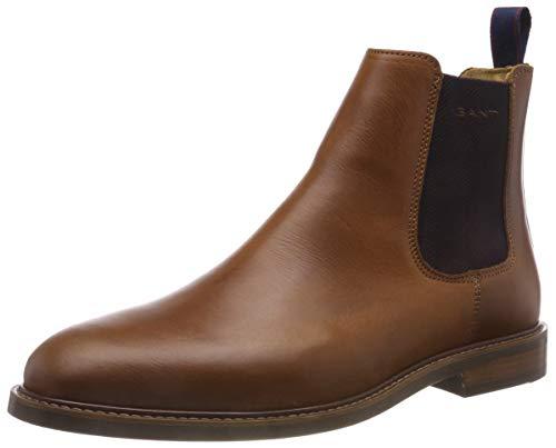 GANT Footwear Herren Ricardo Chelsea Boots, Braun (Cognac G45), 46 EU