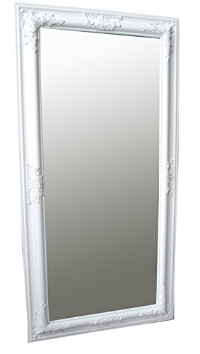 Spiegel Wandspiegel SAMANTHA weiß Barock 100 x 50 cm