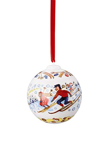 Hutschenreuther Boule en Porcelaine décorée 6 cm