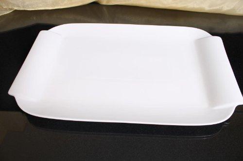Teller Servierteller Servierplatten Porzellan Weiß Gastronomiebedarf Ø41/25