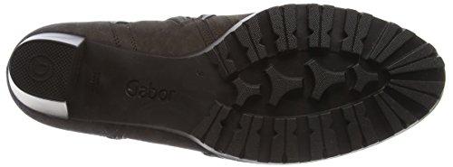 Gabor Damen Comfort Sport Stiefel Grau (Vulcano Micro)