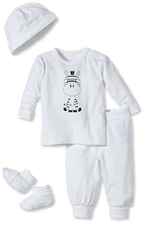 NAME IT Ensemble  Mixte bébé - Blanc - Weiß (Bright White) - FR : 6 mois (Taille fabricant : 68)