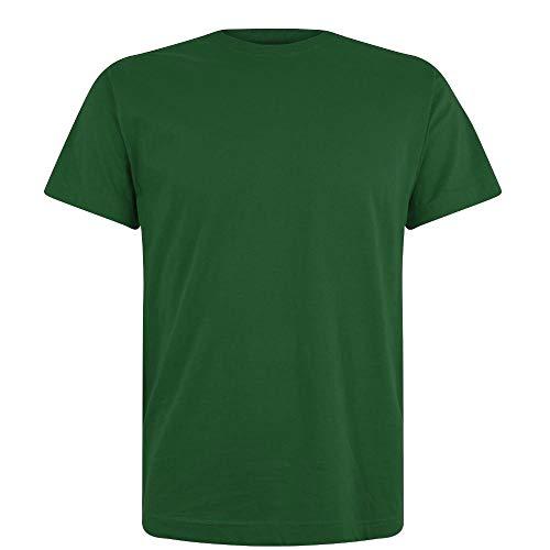 Nur Grünen T-shirt (Logostar - Basic T-Shirt - Übergrößen bis 15XL / Forest Green, 8XL)