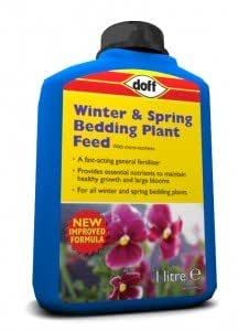 New Winter und Frühling Flaschen Betten Pflanzendünger Größe 1Liter Blau Flasche