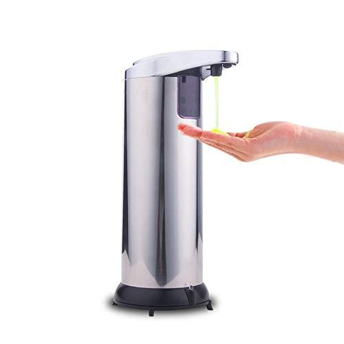 ZXCJY Automatischer Sensor Seifenspender, Automatische Handdesinfizierer Maschinen, Haushalt Rostfreier Induktionsspender, Küche Und Bad Badflüssigkeit Schaumpumpe