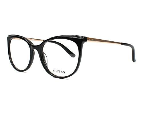Guess gu2640 Brille in schwarz GU2640 005 53 Black Clear 53