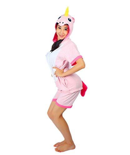 Kenmont-Unicorn-Pijamas-Traje-Disfraz-Adulto-Animal-Pijamas-Cosplay-Halloween-Verano