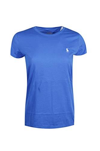 Ralph Lauren Sport Damen Rundhals T-Shirt 2016 Gr. Large, Blue (White Pony)