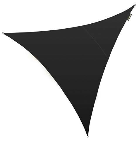 Kookaburra étanche Voile d'ombrage Soleil en noir 3m Triangle