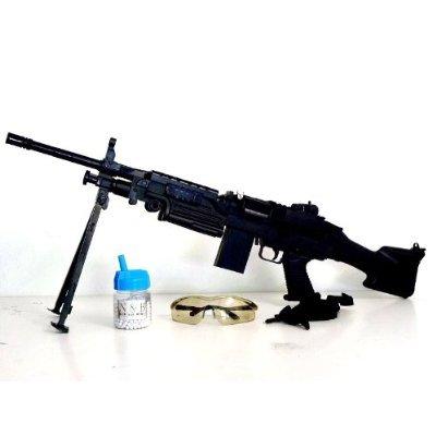 Softair Waffe MK48 Gewehr 93cm Set