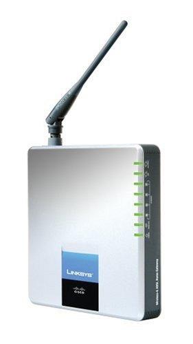 Linksys WAG200G-DE Wireless-G ADSL Home Gateway Annex B (Deutschland) 54 MBit/Sek