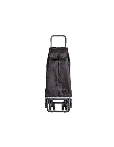 Rolser IMX006S Poussettes à marché Logic Tour/MF 43 L en Noir, Polyester, Multicolore, 37x30x103 cm