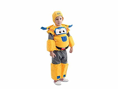 Costume super wings jett dlx giallo 44199