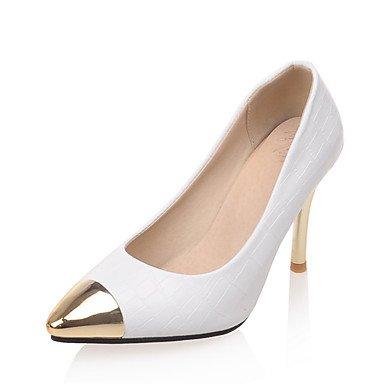 Zormey Frauen Heels Frühling Sommer Club Schuhe Formelle Schuhe Kunstleder Hochzeit Party & Amp; Abendkleid Stiletto Heel Toe Metallic US7.5 / EU38 / UK5.5 / CN38