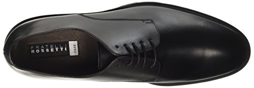 Fratelli Rossetti 45398, Chaussures à Lacets Homme Nero (Nero)