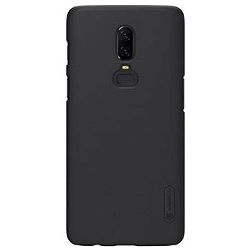 Nillkin Frosted Shield Ultra Thin Hard Plastic Back Cover Case for OnePlus 7 Pro (Black)