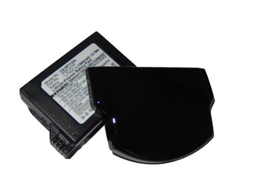Extended vhbw batería repuesto para 1800mAh (3.7 V) para Sony Playstation Portátil PSP Lite, PSP 2th, PSP-2000, PSP-3000, PSP-3004, Silm por PSP-110.
