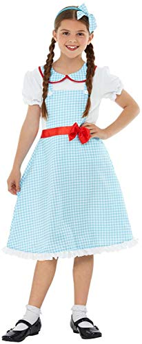 Fancy Me Mädchen Traditionelles Kansas Mädchen Weltbuch Tag Woche - Dorothy Pet Kostüm