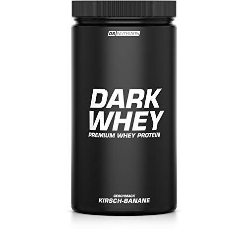 OS NUTRITION DARK WHEY - Premium Whey Protein Kirsch-Banane 600g