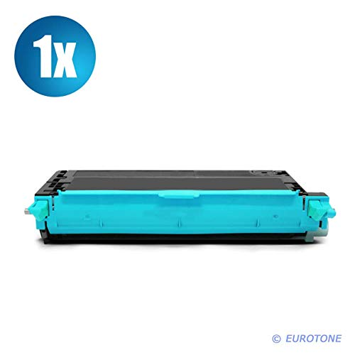 1x Eurotone XXL Toner für Xerox Phaser 6280 DNM DN N ersetzt 106R01392 Cyan Blau