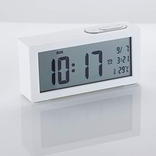 Led Digital Alarma Despertador/Reloj Alimentado BateríA