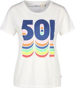 Levi's ® The Perfect W T-Shirt Weiß Blau