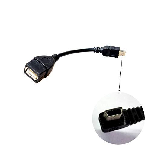 Cocar On-The-Go Kabel USB Mini Stecker auf USB-Buchse Mini USB CONNECTOR TO 2.0 JACK ADAPTERKABEL Mobile Telefon Autonavigation Host Handy Usb-telefon-jack