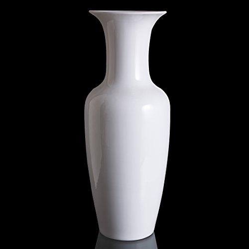 Goebel Kaiser Porzellan Barock Bodenvase, Vase, Blumenvase, Dekovase, Dekoration, Porzellan, Weiß,...