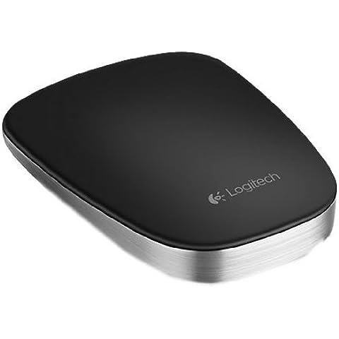 Logitech T630 Ultrathin Touch Mouse Black, 910-003836 (Black)