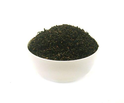 RUSSISCHE TEEMISCHUNG – schwarzer Tee – in einer Black Jap Dose eckig (Teedose) – 147x147x214mm (1 Kilo)