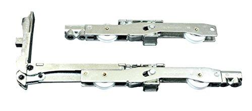 GU Schiebetür Laufwagen/Laufschuhe 937/957 HS/HSK incl. SN-TEC Montageschlüssel (GU 9-40263 & 9-39350 & 9-39342)