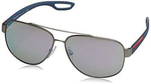 Prada Sonnenbrille 58QSSUN_DG12E2 (60 mm) Gris, 60