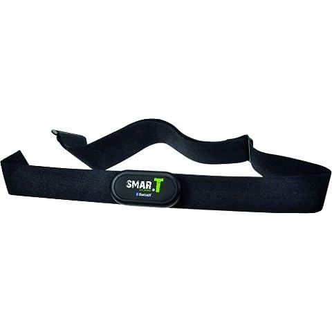 Teasi SMAR.T pulse - Cinturón medidor de frecuencia cardíaca con sensor (tela, Bluetooth 4.0), color