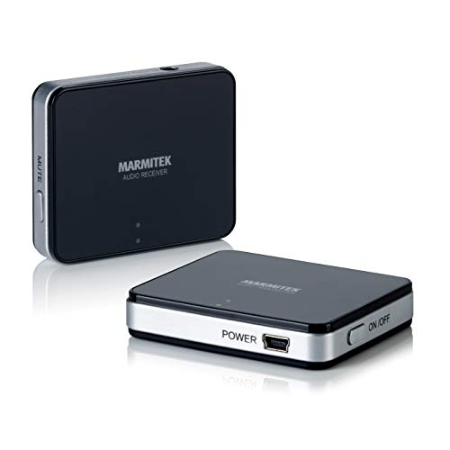 Marmitek Audio Anywhere 625 - Audiosender - digital drahtlos - stereo - drathlose Audioverbindung - Plattenspieler drahtlos anschliessen (Kit Audio Subwoofer)