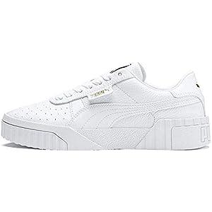 PUMA Women's Cali WN's Low-Top Sneakers, White White, 7.5 UK