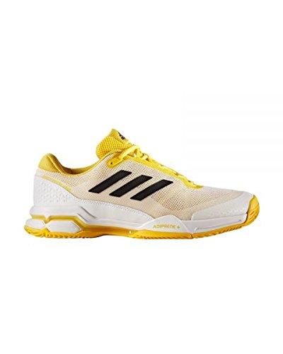 adidas Uomo Barricade Club Scarpe da Ginnastica Giallo Size: 45 1/3