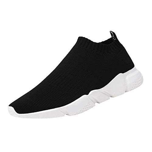 KERULA Sneakers, Breathable Mesh Sneakers Non-Slip Wear-Resistant Student Casual Lazy Shoes Athletic Fashion Day Ultra Lightweight Perforated Slip on Offroad Sport Sneaker füR Damen & Herren
