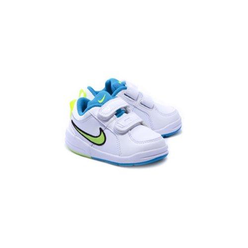 70dfee6f4 Nike - Pico 4 (Tdv) - 454501 121 - Zapatillas Tenis Bebé Blanco ...