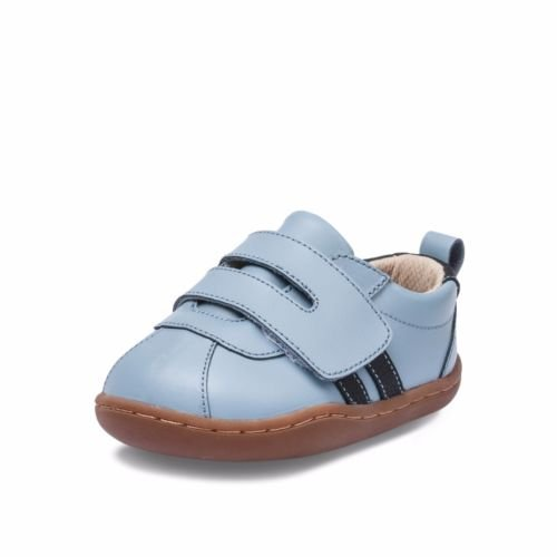 Little Blue Lamb , Chaussures premiers pas pour bébé (fille) bleu bleu 18-24 mois bleu