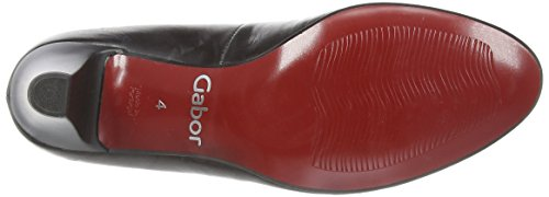 Gabor Vesta 2, Scarpe con Tacco da Donna Nero (Black (Black Leather))